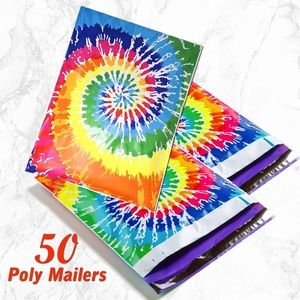 Other - 50 Rainbow Poly Mailers 10x13 Shipping bag